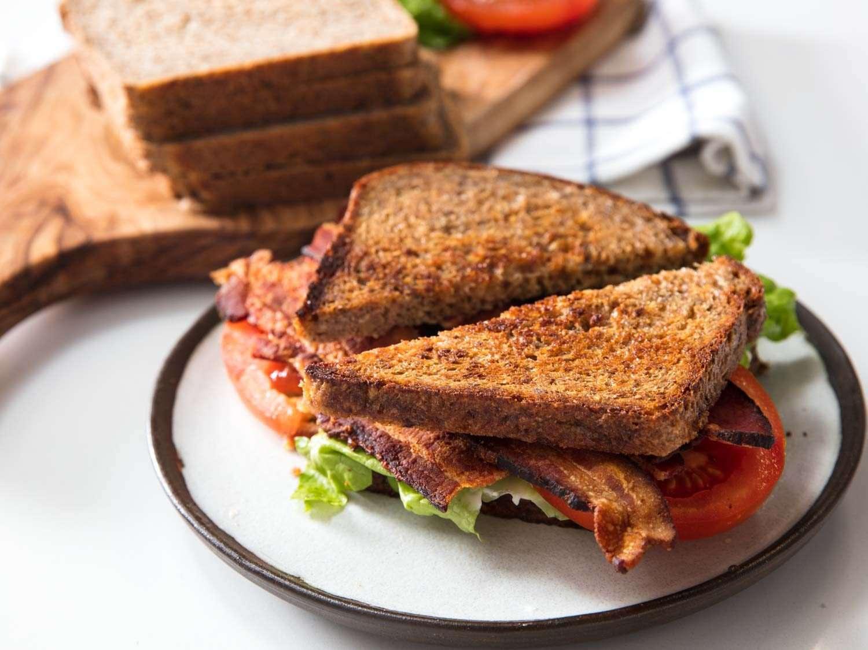 BLW with whole grain bread