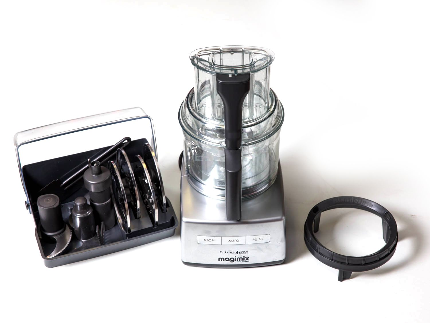 Magimix food processor with accessories