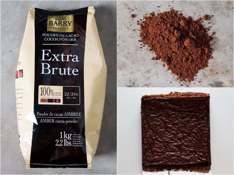 Cacao Barry Extra Brute cocoa powder