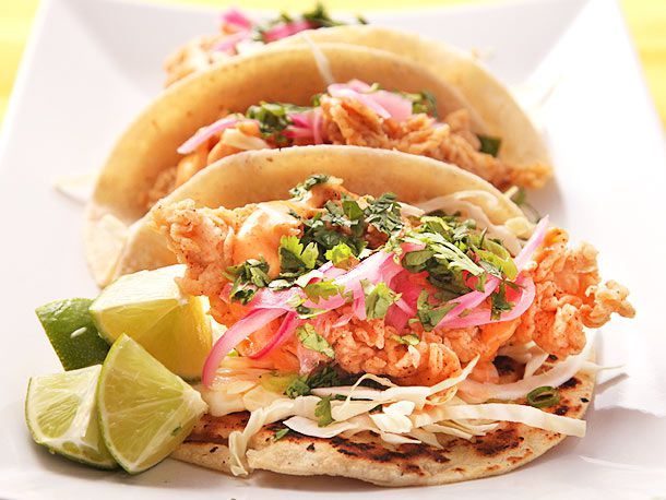 Crunchy Fried Fish Tacos