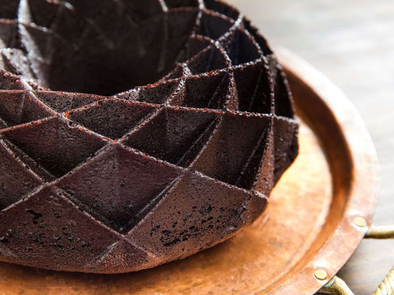 bundt cake detail