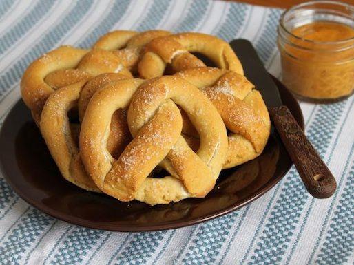 Finished pretzels
