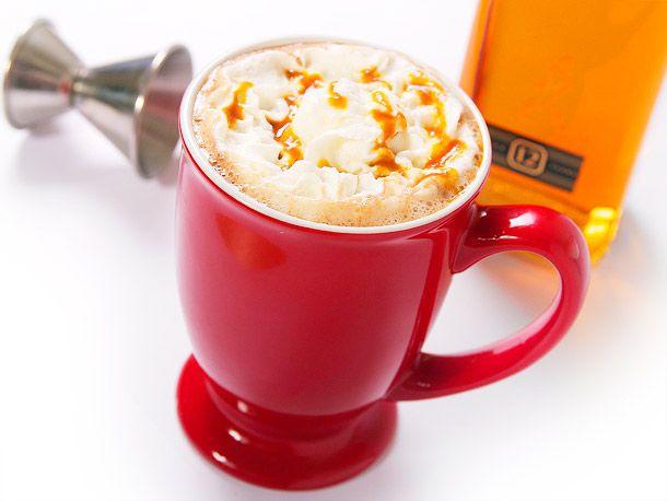 Salted Butterscotch Hot Chocolate