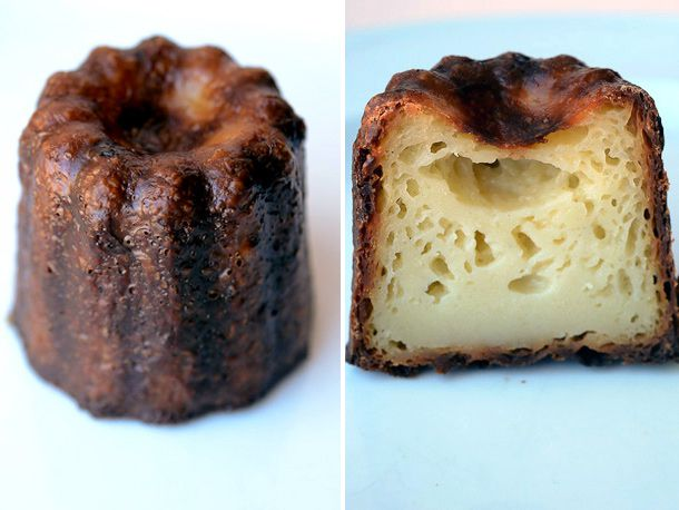 Caneles from Dominique Ansel's bakery.
