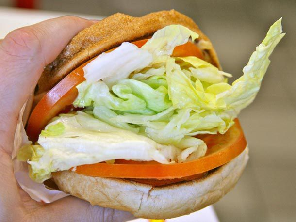 In-N-Out Veggie Burger