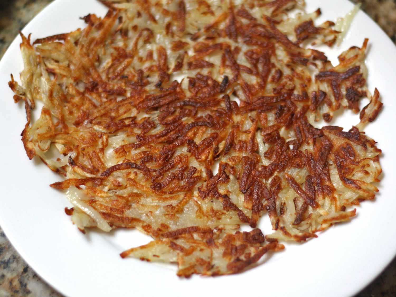 Crispy, Crunchy, Golden Shredded Hash Browns