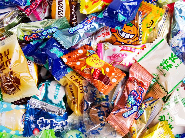 Japanese drink-flavored candy