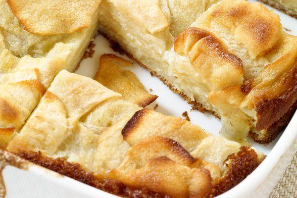 apple square pastries