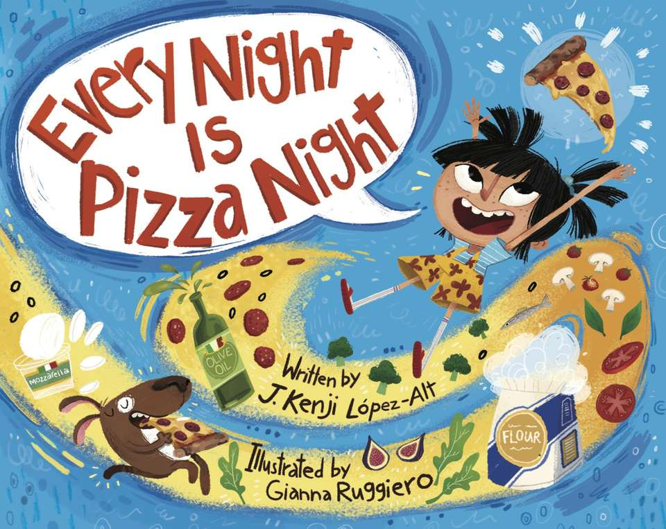 Cover illustration from Every Night Is Pizza Night