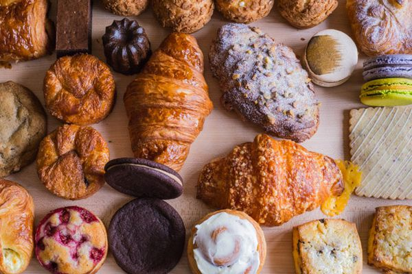 All the Pastries at Crumble & Flake