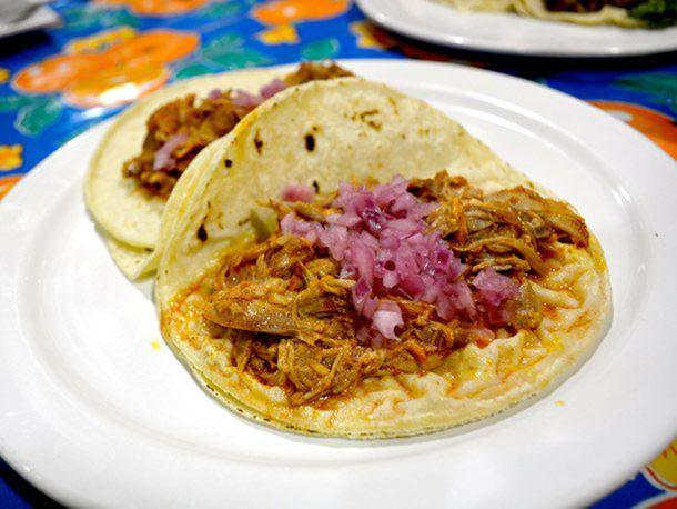 Cochinita Pibil at Chichen Itza