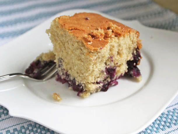 Gluten-Free Blueberry Muffin Cake