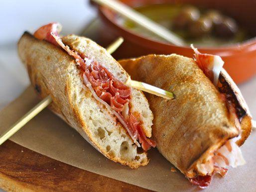 A bocadillo sandwich