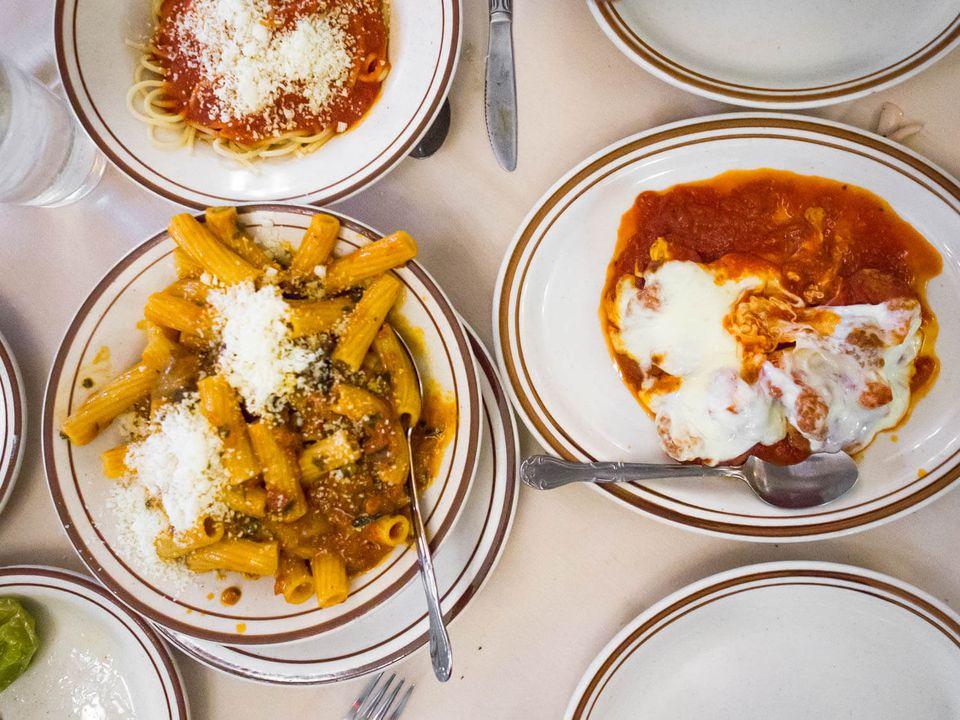 Italian food at Frost