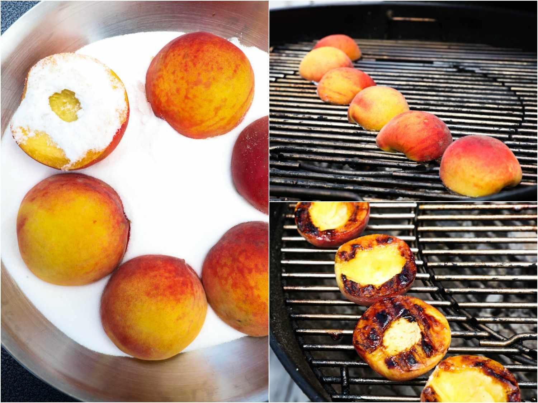 20170621-peach-gastrique-grilled-pound-cake-vinegar-vicky-wasik-collage1.jpg