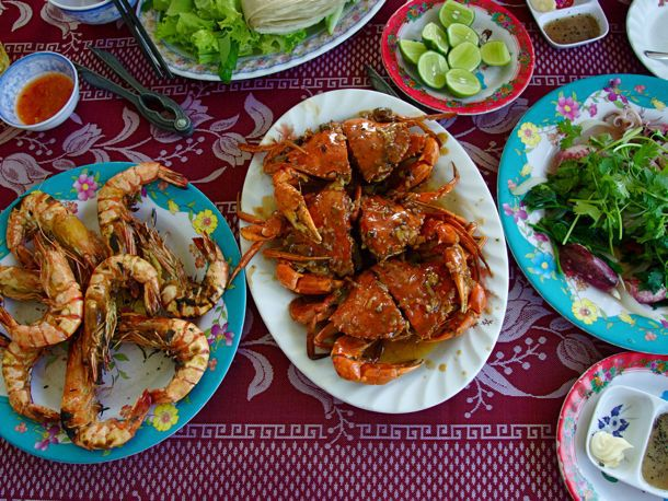 Incredible Seafood Lunch in Vietnam