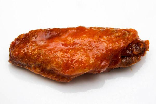 Double-fried buffalo chicken wing flat