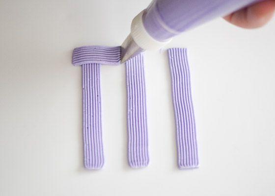 Starting a basket weave