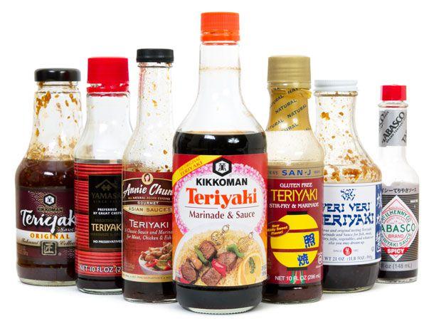 Bottled Teriyaki Sauces