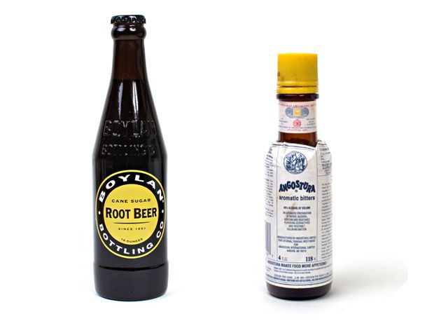 Root Beer and Angostura Bitters