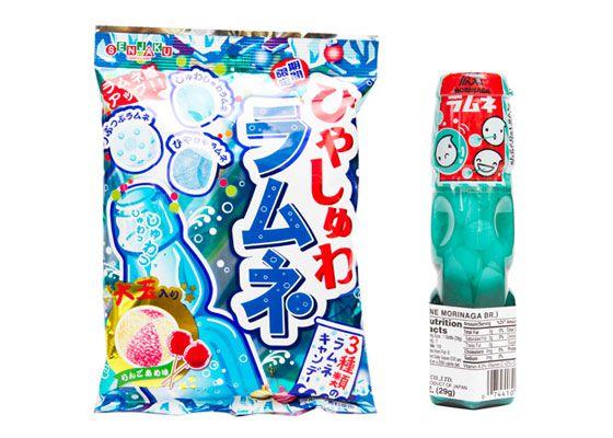 Japanese ramune candy
