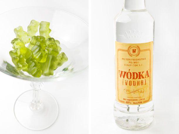 green apple bears and vodka