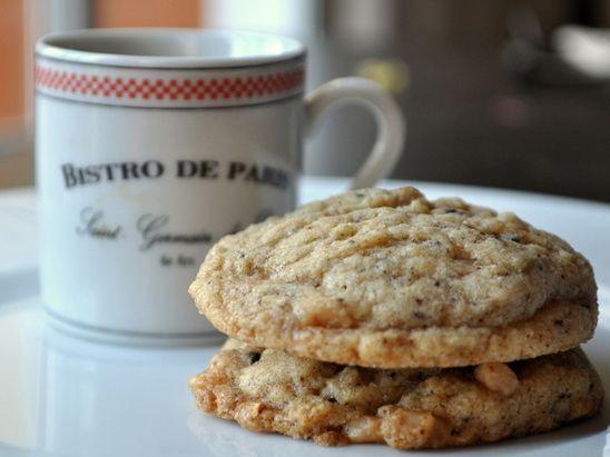 Toffee Espresso Drop Cookies