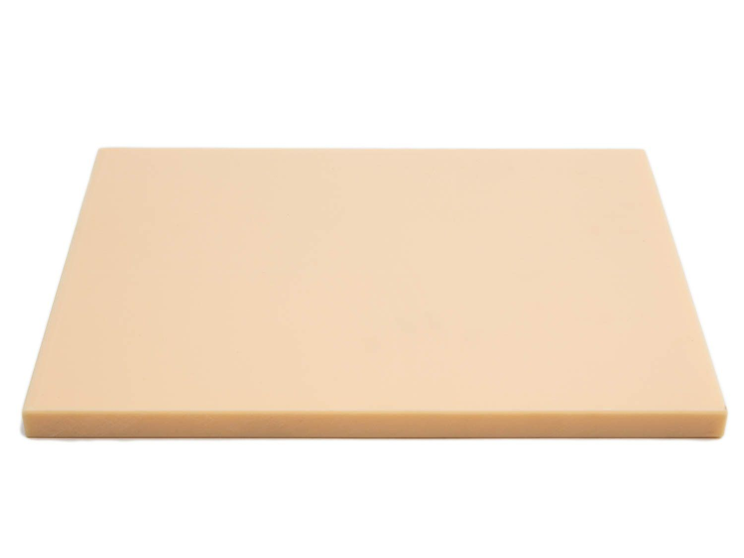 We like these Japanese high-soft cutting boards for their wood-like performance.