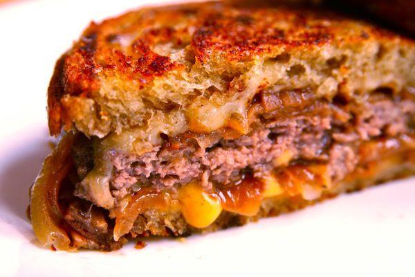 burger patty melt