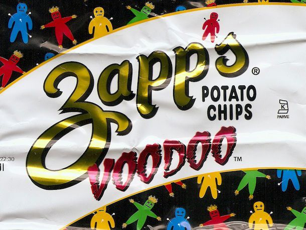 Sandwich and Zapp's Potato Chips