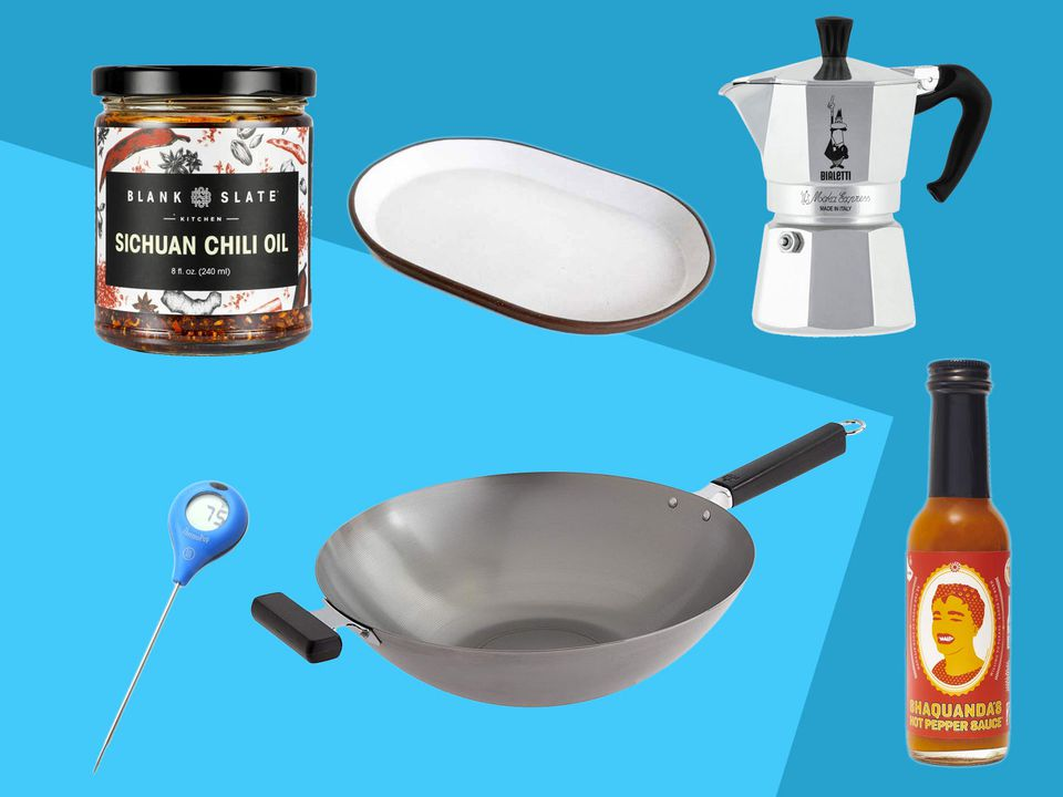 a collage of gifts under $50