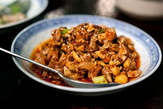Spicy Diced Rabbit from Café China