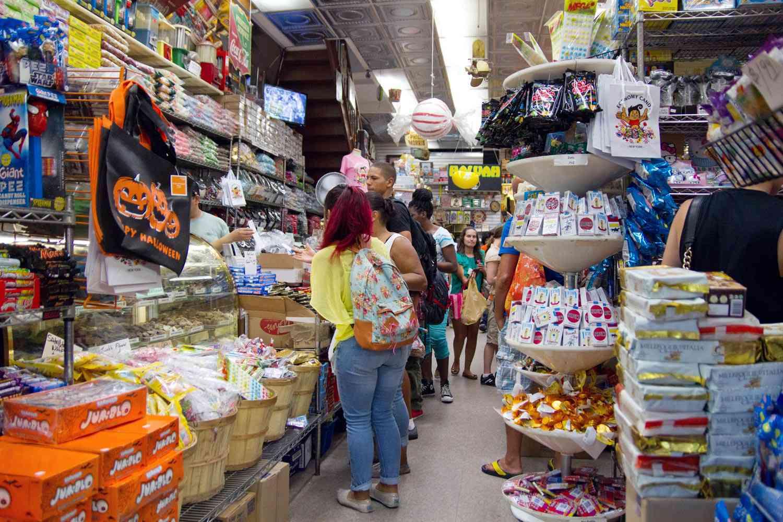 Interior of Economy Candy