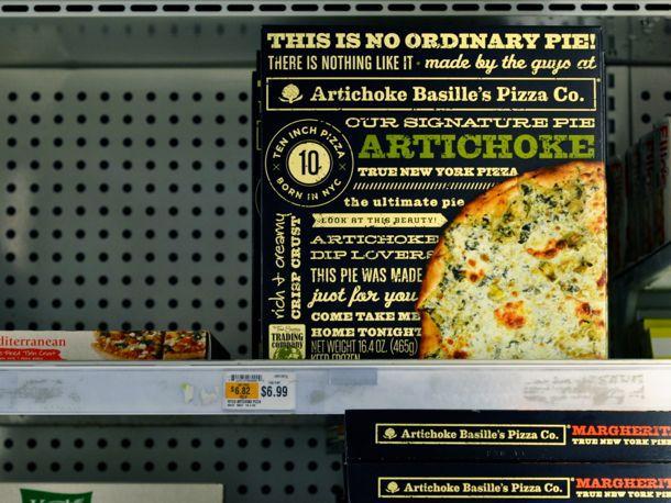 Artichoke Basille's Frozen Pizza