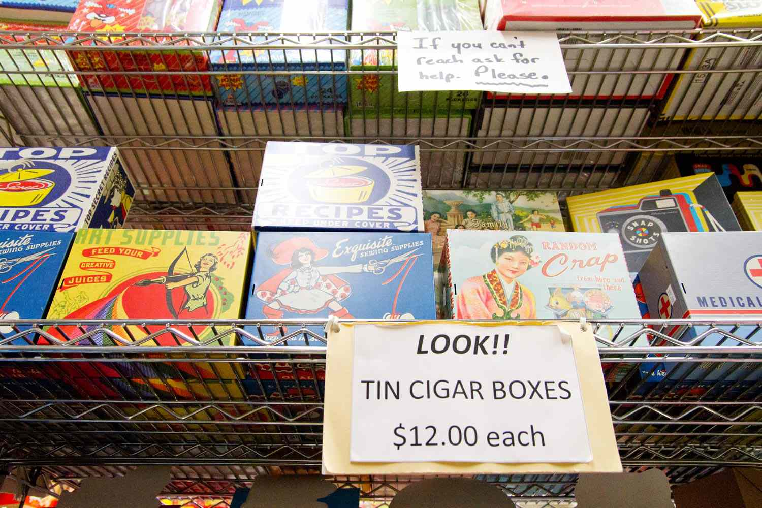 Candy cigar boxes
