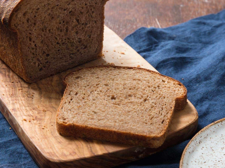 100% whole wheat sandwich loaf
