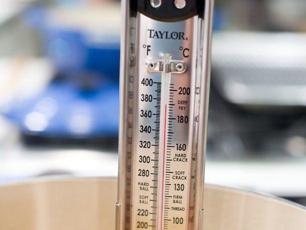 temperature of oil