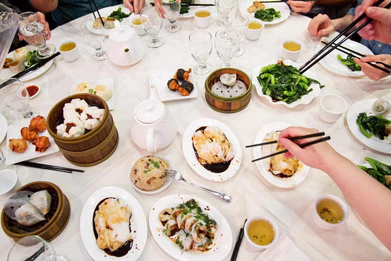 Dim Sum Table