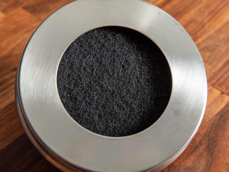 Compost bin filter