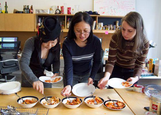 Kimchi Tasters
