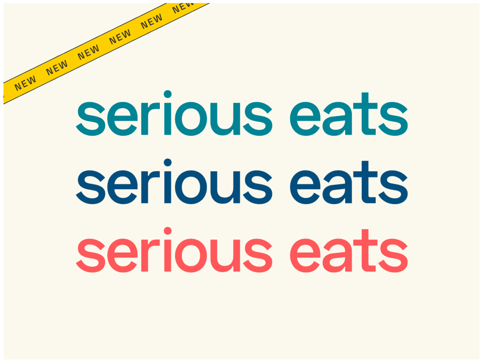 new serious eats wordmark