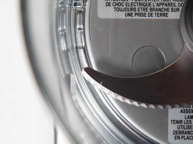 Close-up of Magimix food processor's blade