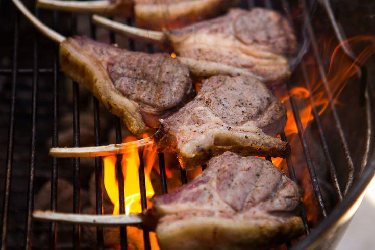 lamb chops on propane grill Perfectly Grilled Lamb Rib or Loin Chops Recipe