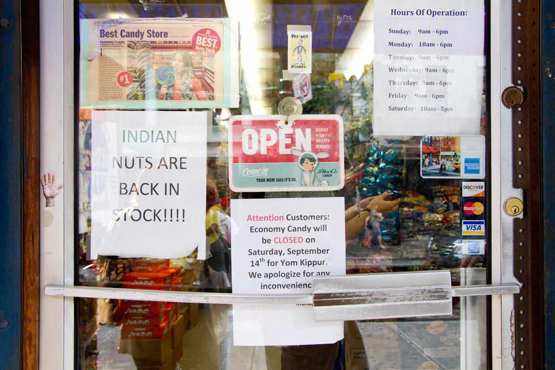 Economy Candy front door