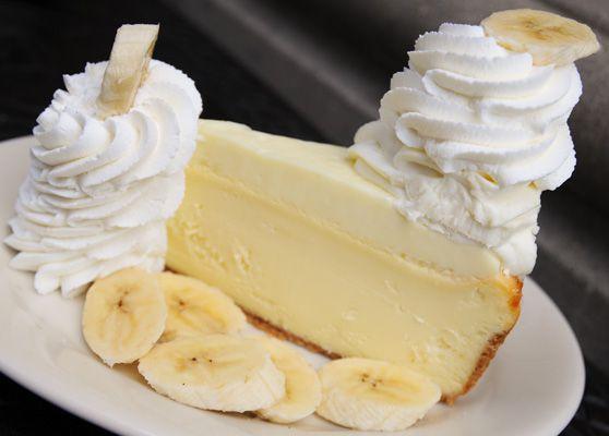 Fresh Banana Cream Cheesecake