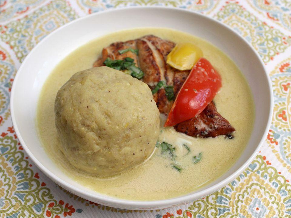 Garifuna dish of hudutu