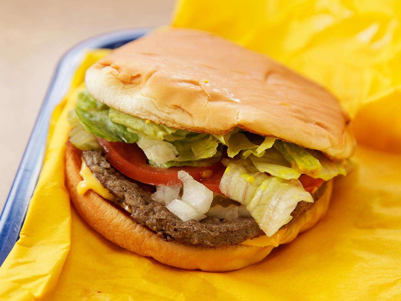 A burger from Whataburger