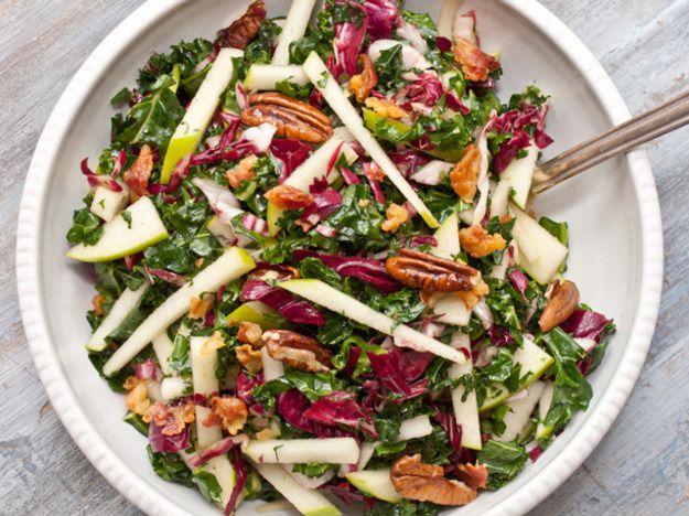 Kale, Apple, and Pancetta Salad