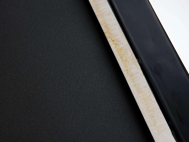 Grease stains on Presto Tilt-n-Fold griddle.