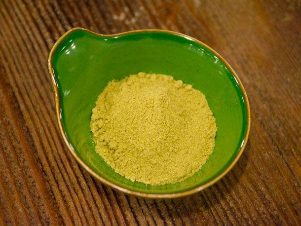 pre-ground pestle tea mix